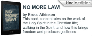 No More Law! by Bruce Atkinson - Now available on Kindle