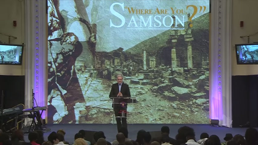 Where are you Samson? by Colin Dye