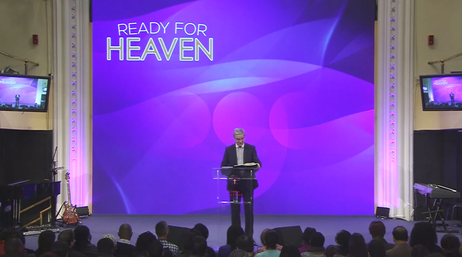 Getting Ready for Heaven