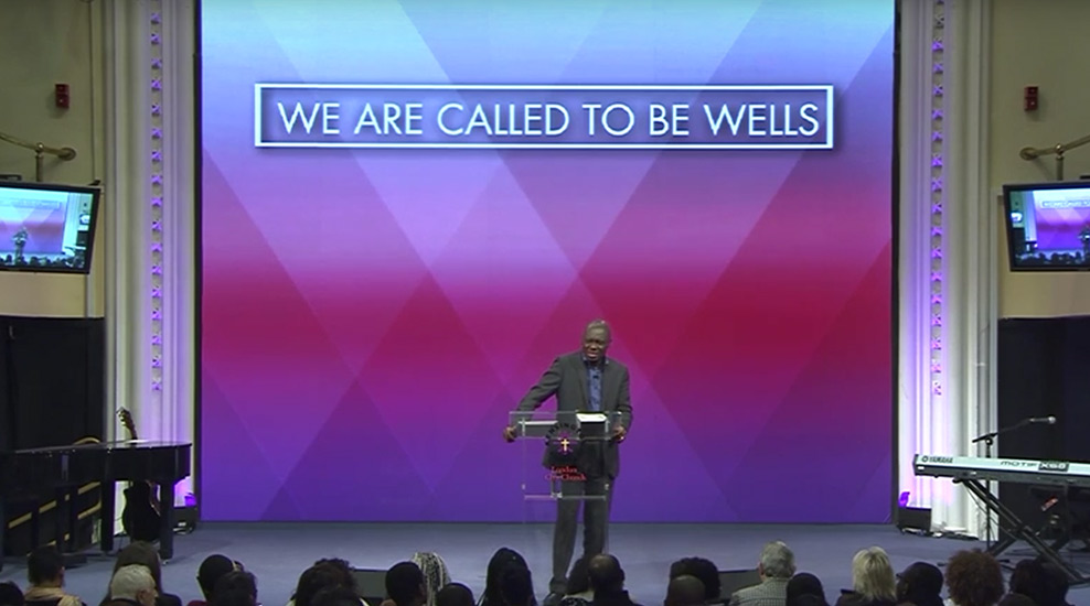 We are Called to be Wells