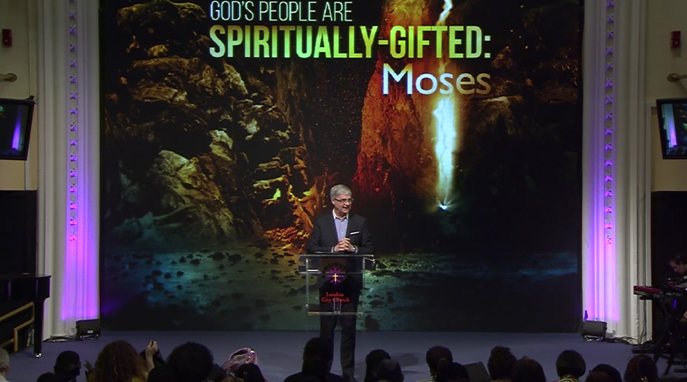 God's People are Spiritually-Gifted: Moses