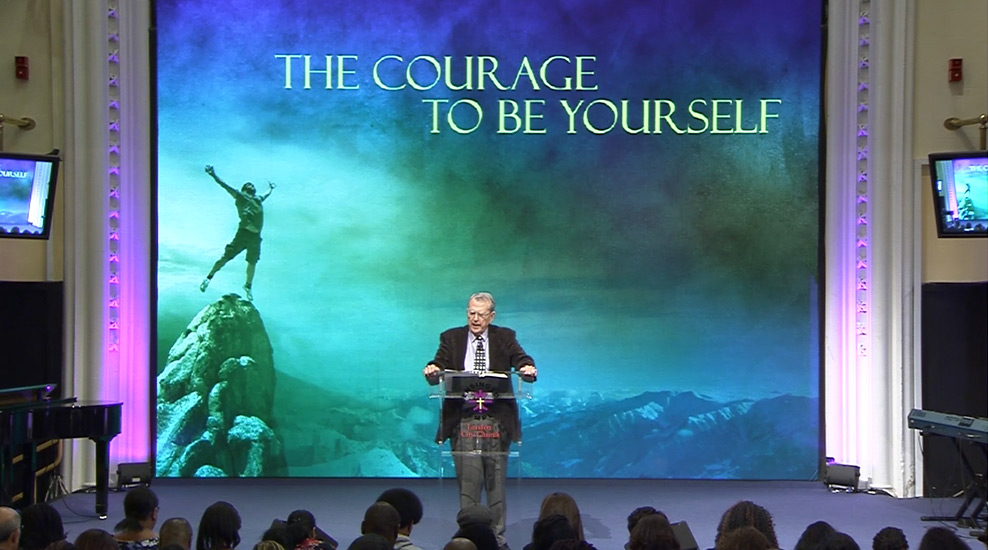 The Courage to be Yourself