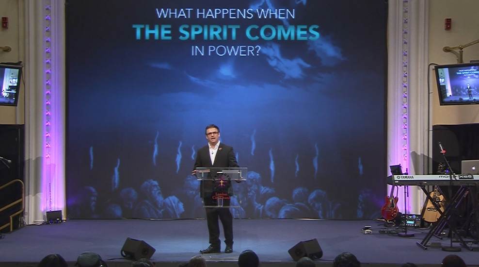 What Happens When The Spirit Comes in Power?