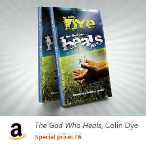 The God Who Heals: Hope for a Hurting World Paperback available on Amazon