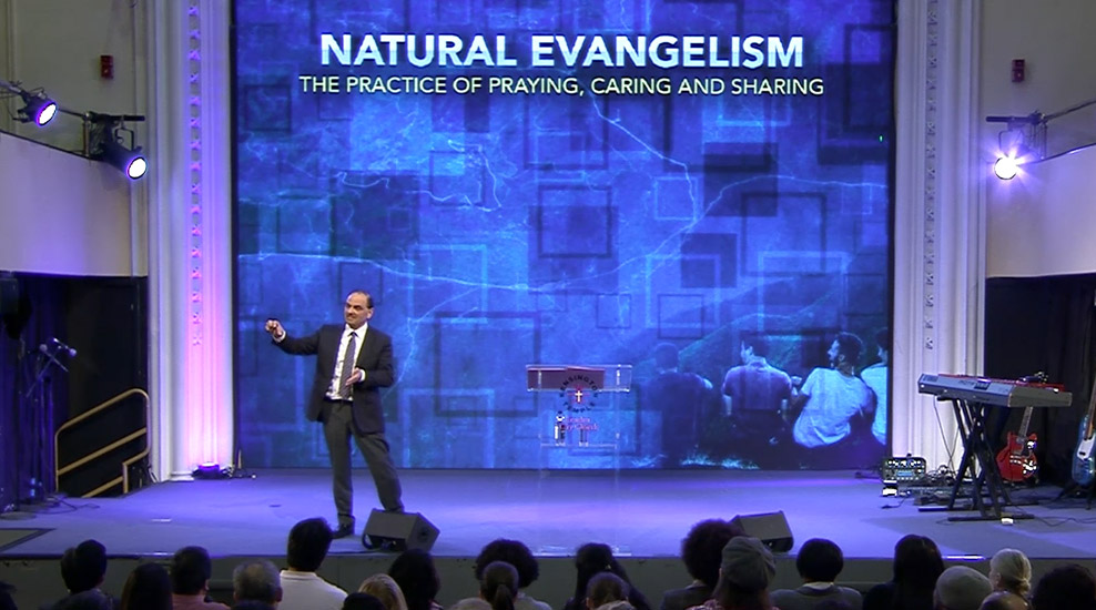 Natural Evangelism: The Practice of Praying, Caring and Sharing