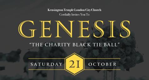 Genesis Ball – Charity Black Tie Ball – Saturday 21st Oct